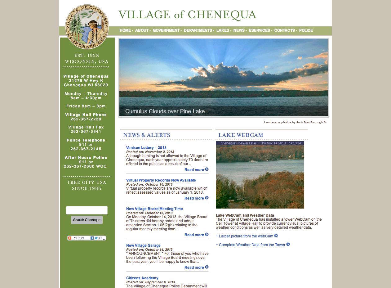 Village of Chenequa